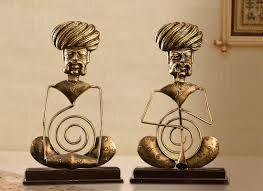 Buy Home Decor Items Online by Buy Home Décor Online Rajasthani Pagadi Musicians Showpiece Online