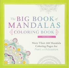 amazon com the big book of mandalas coloring book volume 2 more