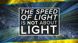 the speed of light is not about light space time pbs digital