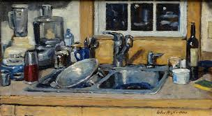 The Kitchen Sink Painting By Thor Wickstrom - Kitchen sink paint