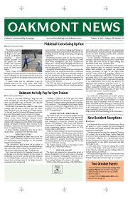 Wildfire Dorothy Mp3 by October 1 Edition Of The Oakmont News By Oakmont Village Issuu