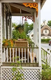 pretty porch ideas from ile d u0027orleans in quebec canada pith vigor
