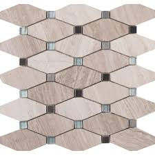 Hexagon Backsplash Tile by Tile Modern Trend For Your Home With Outstanding Octagon Tile