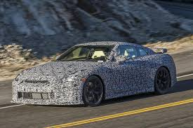 Nissan Gtr 2005 - spy shots reveal 2017 nissan gt r during tests in california