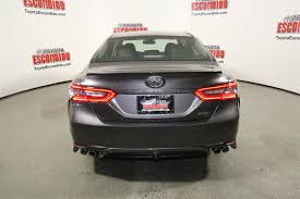 toyota camry trunk new 2018 toyota camry xse 4dr car in escondido 1015622 toyota