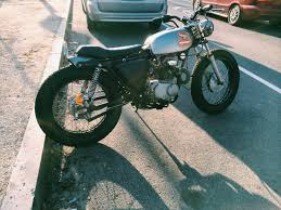 re 1970 honda cl175 street tracker brat type of thing moto