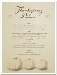 thanksgiving day menu template thanksgiving menus