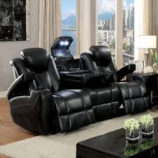 Reclining Sofas And Loveseats Furniture Of America Contemporary Power Reclining Sofa Loveseat