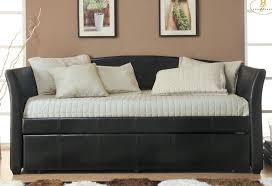 amazon com homelegance meyer faux leather upholstered trundle