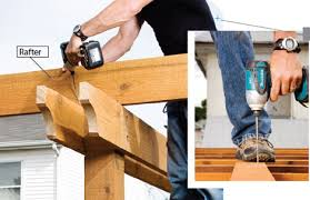 How To Build A Pergola On An Existing Deck by Diy Pergola Plans U2013 How To Plan And Post A Pergola