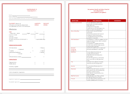 asset list template printable forms for word and excel