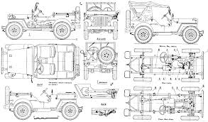 jipsi jeep willys mb jeep blueprint download free blueprint for 3d modeling