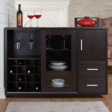 Black Buffet Server by Wine Bottle Storage Equipped Sideboards U0026 Buffets You U0027ll Love