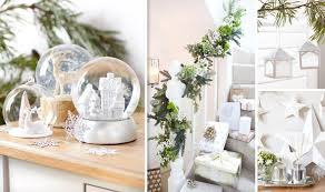 best white and silver decorations for 2014 style