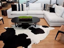 Black Cowhide Rugs Faux Cowhide Rug Black And White Rug Designs