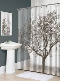 Shower Curtains by Splash Home Tree Mocha Shower Curtain Home Kitchen