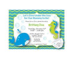 theme baby shower invite customizable