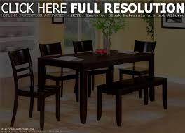 Kitchen Table With Bench And Chairs Bedroom Entrancing Drop Leaf Dining Table Set Kitchen Dark Wood