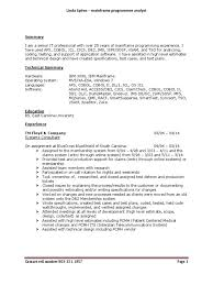 online xpeditor tutorial senior analyst programmer mainframe in columbia sc resume linda