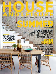 Home Design Magazines South Africa House And Leisure Special Edition 2017