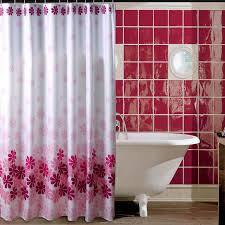 Waterproof Fabric Shower Curtains Useful Tips In Using Fabric Shower Curtains We Bring Ideas