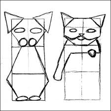 how to draw a cat catster