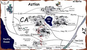 Tecate Mexico Map by El Quento De La Chewy Climbing Magazine