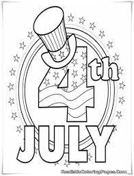 free coloring pages fourth of july