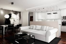 Home Designs Black And White Living Room Decor White Black And Room L