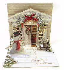 3d christmas cards kaderia rakuten global market popup christmas card door