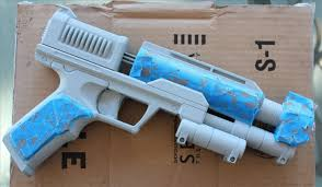How To Paint Textured Plastic - the easiest way to paint a steampunk nerf gun no disassembly