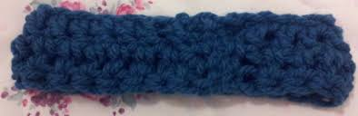 crochet band easy peasy crochet band free pattern for beginners