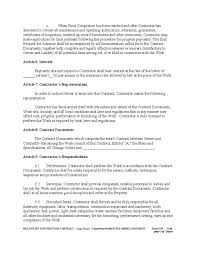construction contract template 9 sample construction contract