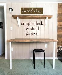 Diy Murphy Desk Diy Wall Desk Golbiprint Me