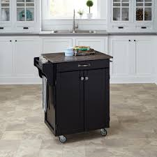 walnut wood autumn madison door kitchen island with casters