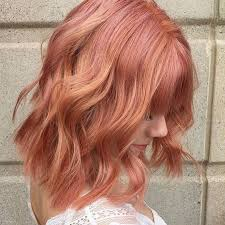 aveda haircuts 2015 an aveda color trend we ll never stop loving rose gold hair color