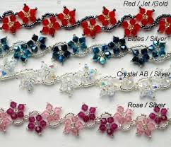 crystal bracelet designs images Swarovski crystal bracelet patterns 63 best bracelets images on jpg