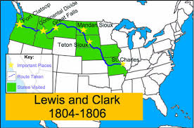 clark map lewis and clark your own map