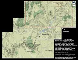 Antelope Canyon Arizona Map by The Mathisen Corollary Bluejohn Canyon And Slot Canyons