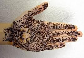 attractive cones mehndi design for finger mehendi