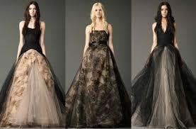 having extraordinary bridal look with black or dark wedding