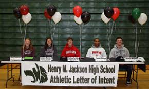 College National Letter Of Intent Five Jackson High School Athletes Sign Collegiate Letters Of
