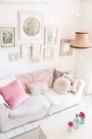 deco shabby chic shabby chic sofa pastel decor best vintage living images on