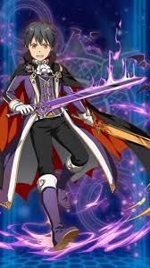 vamp kirito sword art online pinterest