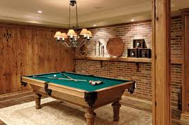basement decor ideas awesome home billiard room design for your