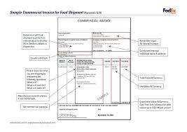 commercial invoices for exporting templates exle of commercial invoice for export sle commercial invoice