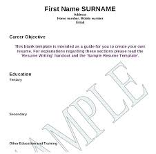 Resume Templates For Word 2007 by Resume Writing Template Related Post Sle Resume Templates Word