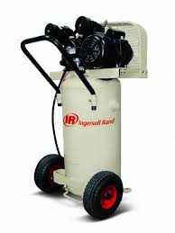 ingersoll rand 20 gallon 2 hp air compressor with vertical tank
