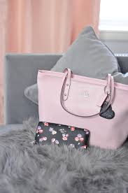 light pink coach wallet smile it s my january coach bag giveaway more love maegan