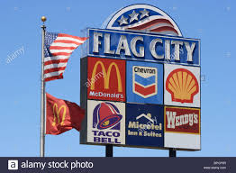 Flags Restaurant Menu The Flags Of The United States California And Mcdonalds